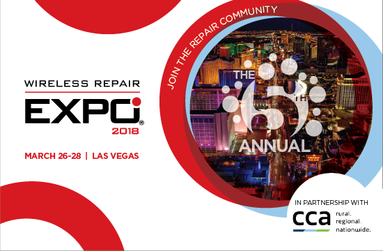 Wireless Repair EXPO 2018 Partners with CCA